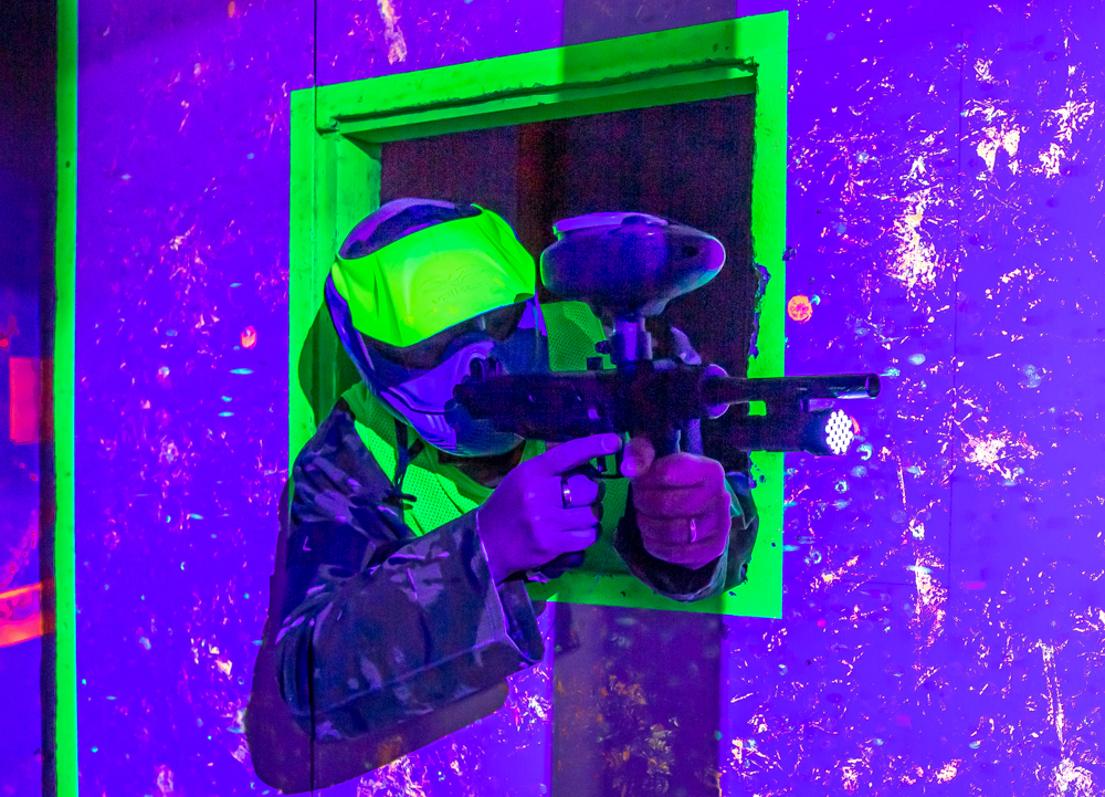 uv paintball